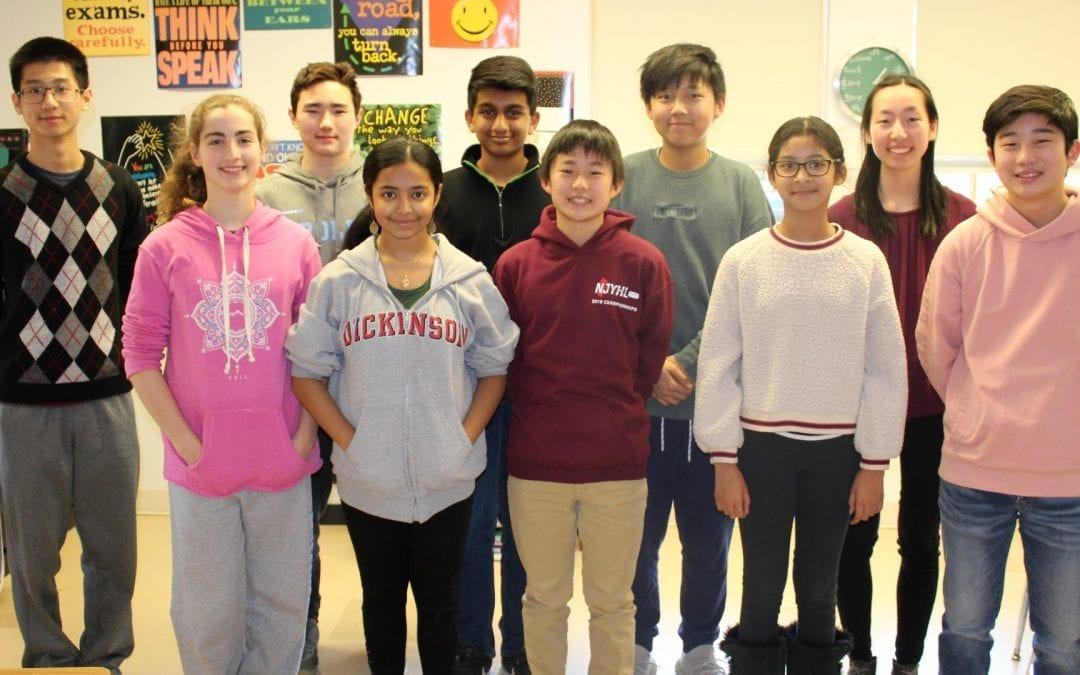Middle School MATHCOUNTS Team Places Fifth at Chapter Competition