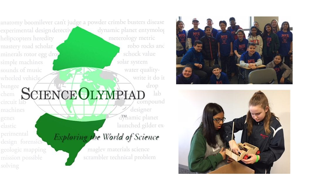 Middle School Science Olympiad Team Wins Ten Medals, Qualifies for State Finals