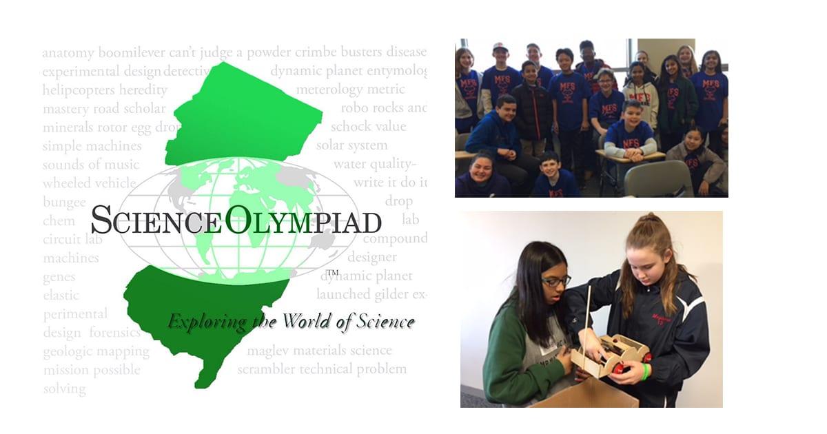 Moorestown Friends School Middle School Science Olympiad Team Wins