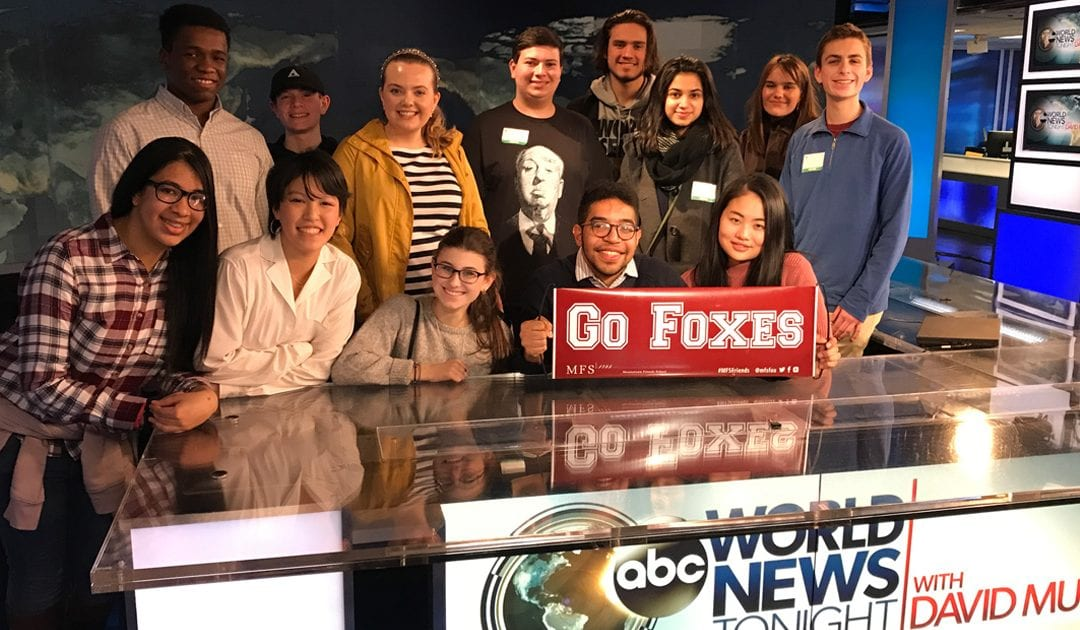 Student Journalists Enjoy Whirlwind NYC Media Tour