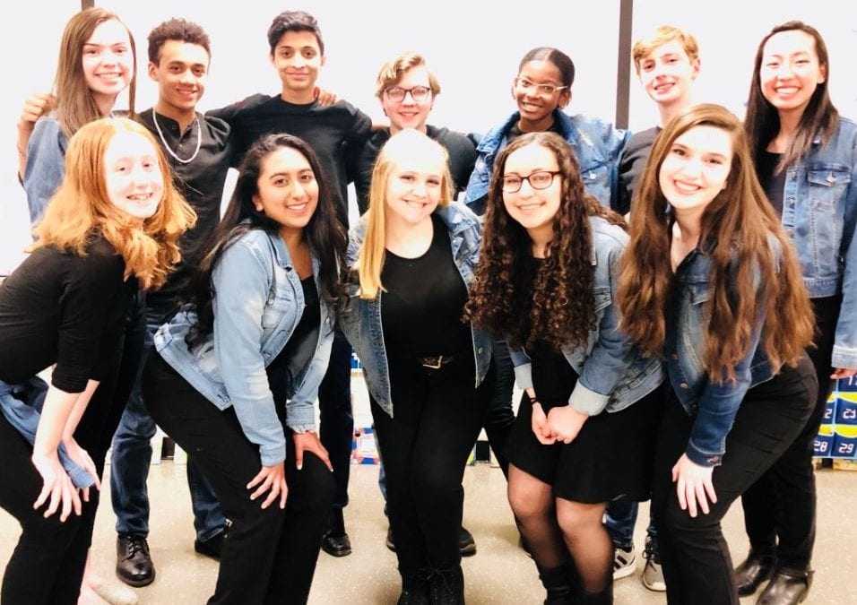 Chamber Choir Enjoys Success at Regional A Cappella Competition