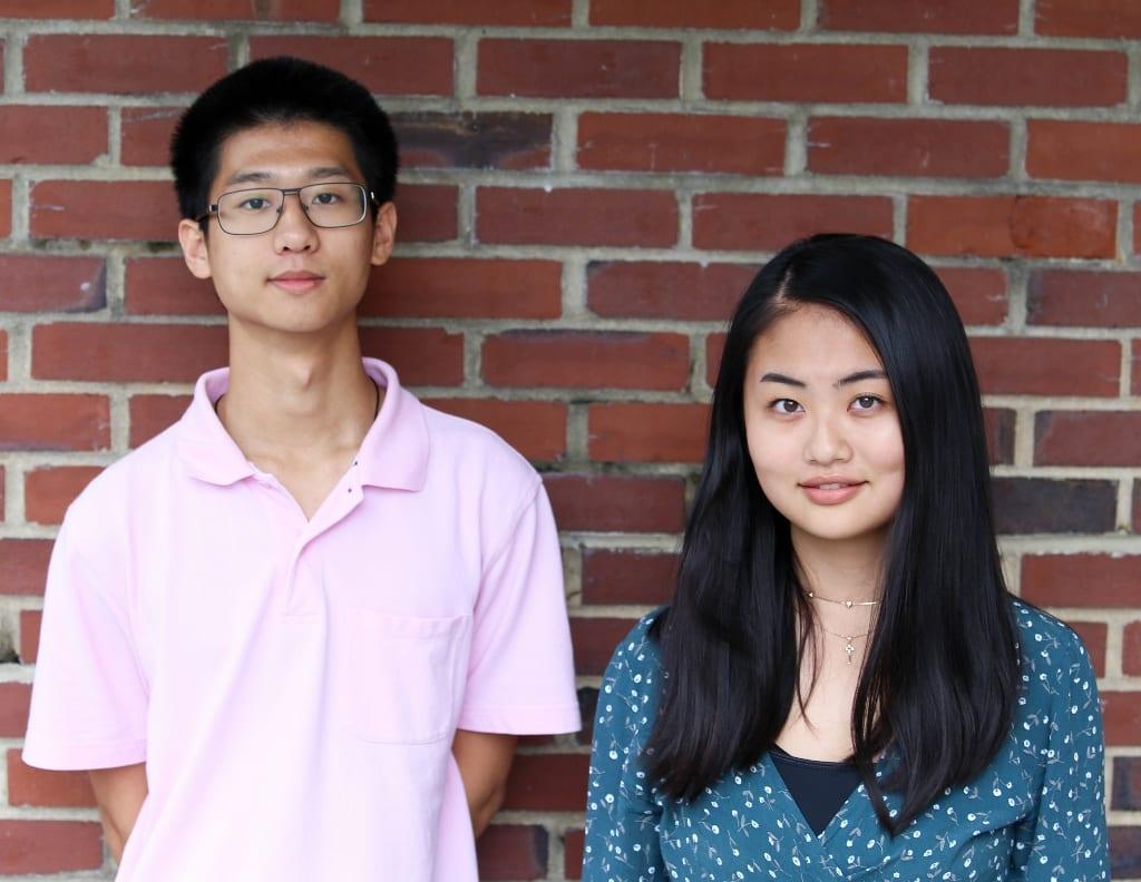 Moorestown Friends School - Two Seniors Named Finalists in