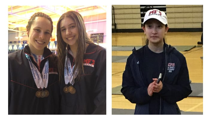 Foxes Enjoy Great Fencing and Swimming Success