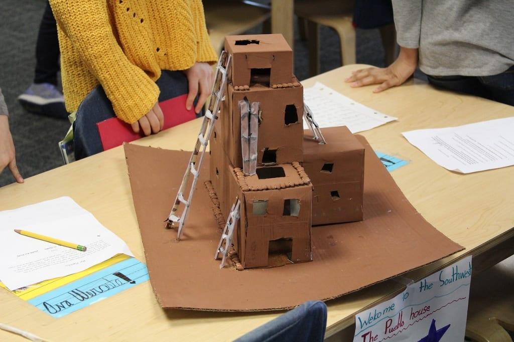 Moorestown Friends School Third Grade Students Explore Artifacts
