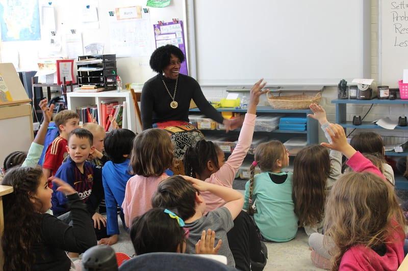 Master Storyteller Charlotte Blake Alston Visits the Lower School