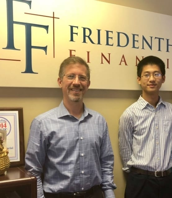 Dylan Zhou '19 Co-Authors Article for Financial Planning Association