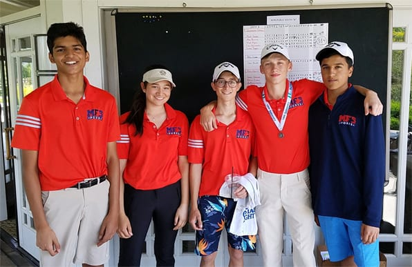 Golf Finishes as NJSIAA Sectional Runner-Up; Alec Ryden Finishes as Individual Runner-Up