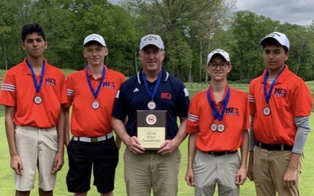 Golf Team Captures First-Ever Friends Schools League Title