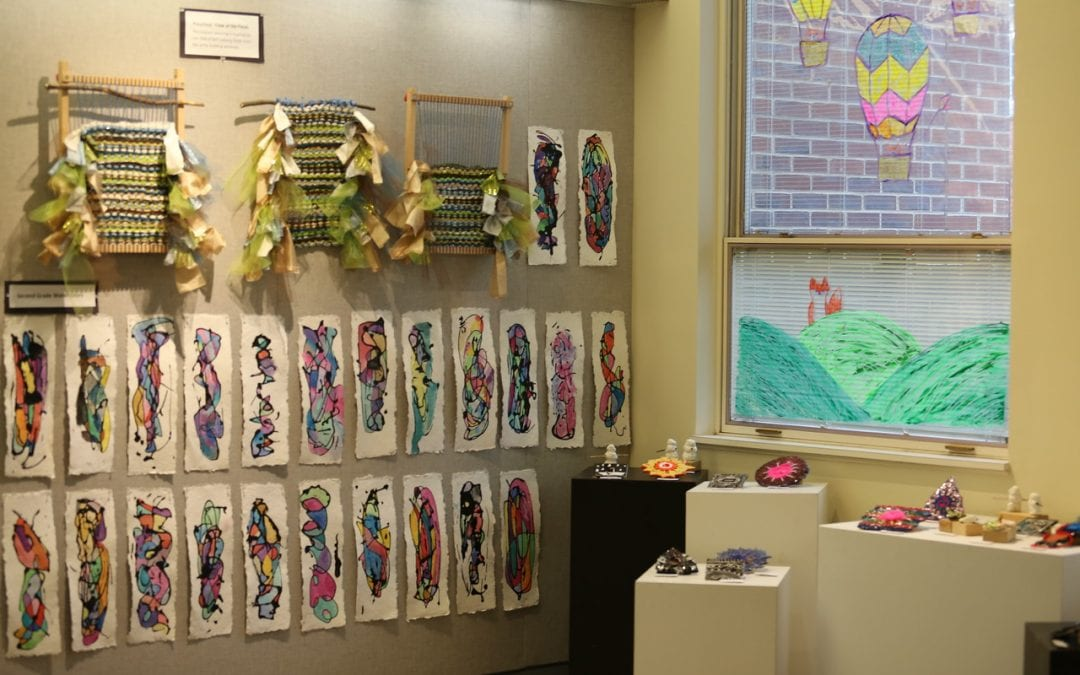 """Let Your Spirit Soar"" Art Project Showcases Creativity of Lower School and Grade 5 Students"