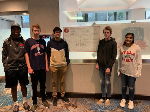 History Bowl Team Captures Third in National Tournament Bracket