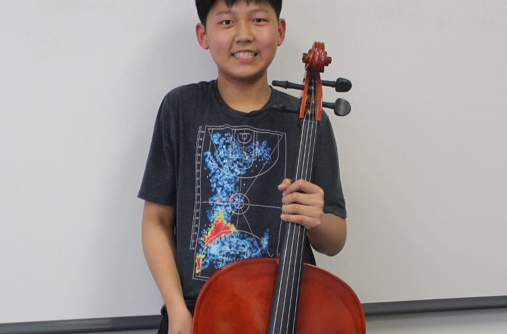 Alexander Kwak '23 Performs as Principal Cellist in New Jersey All-State Concert