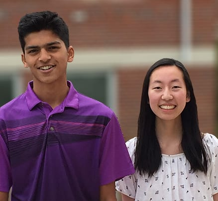 Two Juniors Selected as 2019 New Jersey Governor's School Scholars