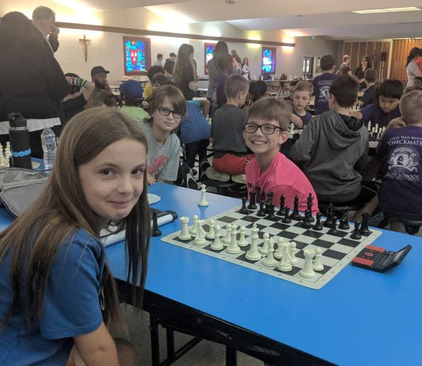 Lower School Students Win Three Competitions at Knight School Chess Tournament