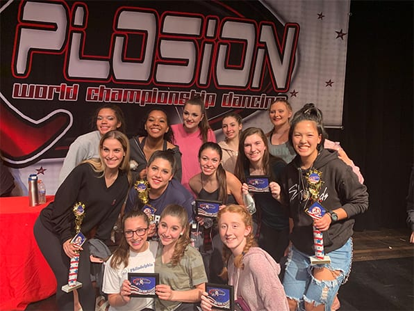Dance Team Earns Seven Individual and Group Trophies at Regional Competition