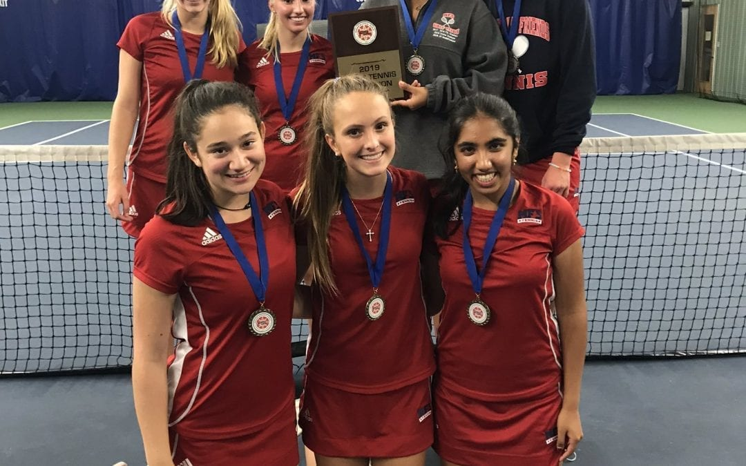 Girls' Tennis Concludes Historic Season with FSL Championship