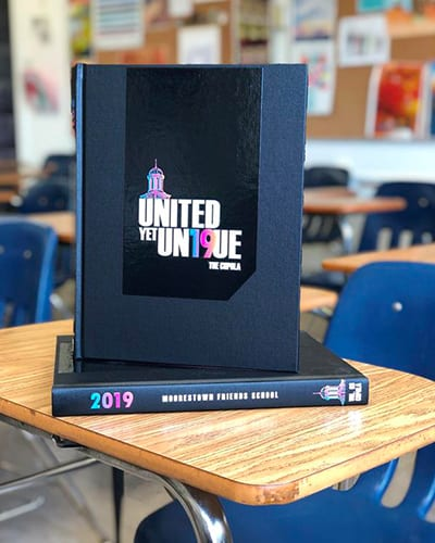 Yearbook Staff Wins First Place Award for 2019 Cupola