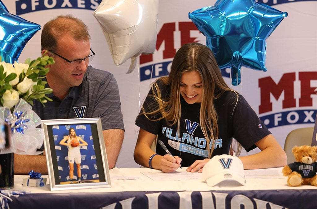 Bella Runyan '20 Signs NLI To Play Basketball at Villanova