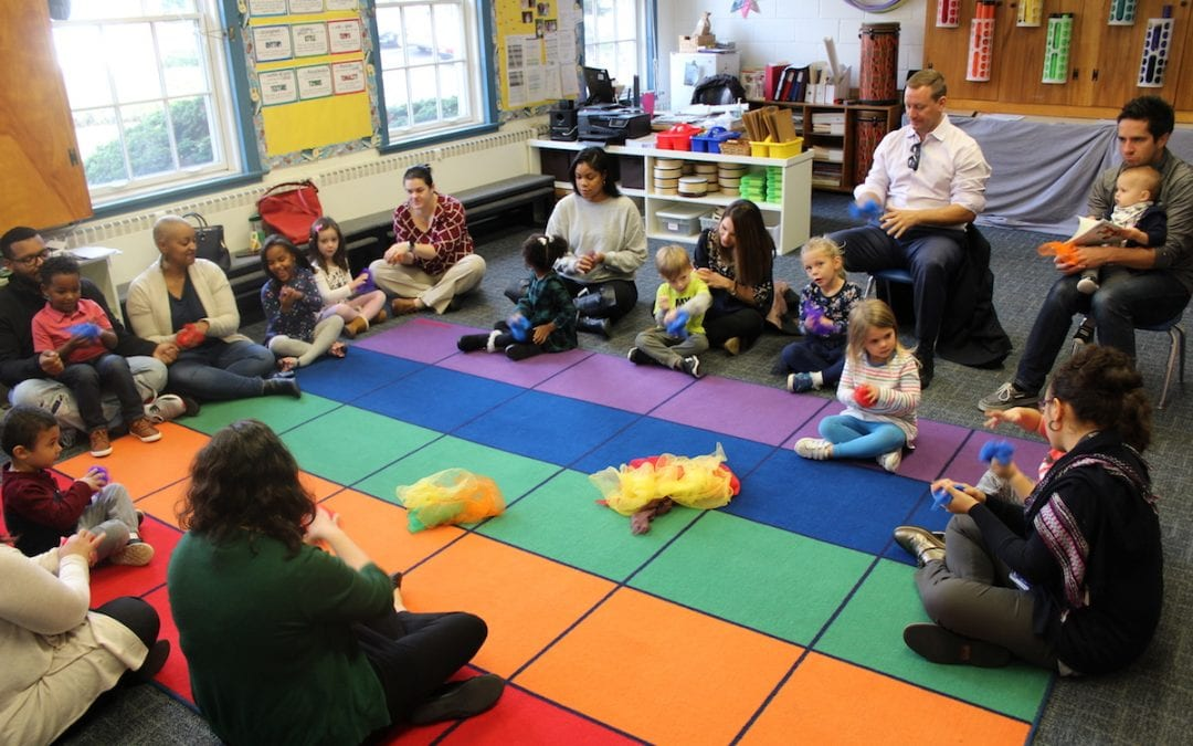 "Beginnings Students and Parents Enjoy Making Music Together Through ""Informances"""