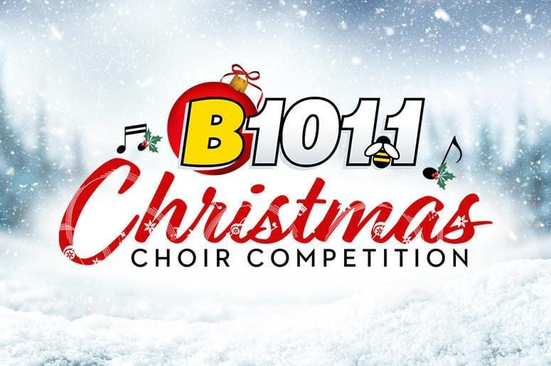 VOTE MONDAY! Upper School Chamber Choir Semifinalist in B101 Christmas Choir Competition