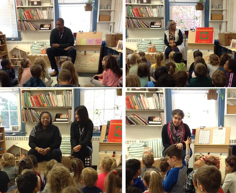 Kindergarteners Welcome MFS Faculty and Staff for Q&A Sessions
