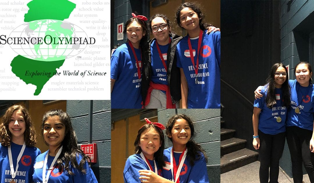 Middle School Science Olympiad Team Wins Nine Medals in Regional Tournament