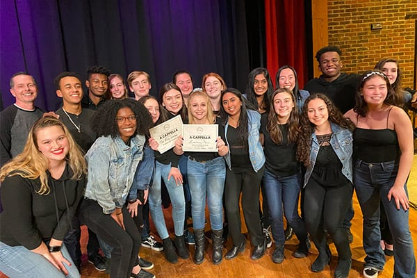 Upper School Chamber Choir Places Second in Regional Quarterfinals of International A Capella Competition