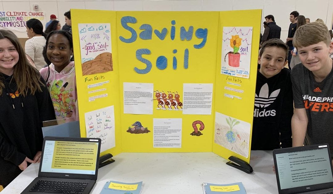 Seventh Grade Quest Students Explore Sustainable Solutions at Climate Change Symposium