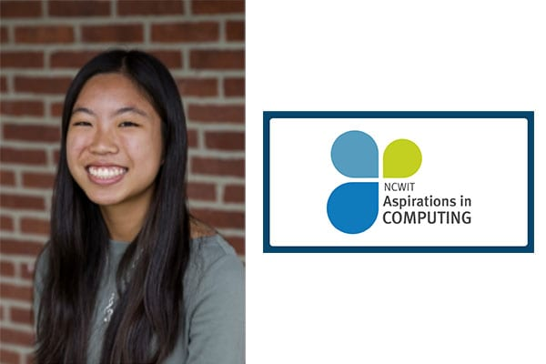 Student Recognized in National Aspirations in Computing Program