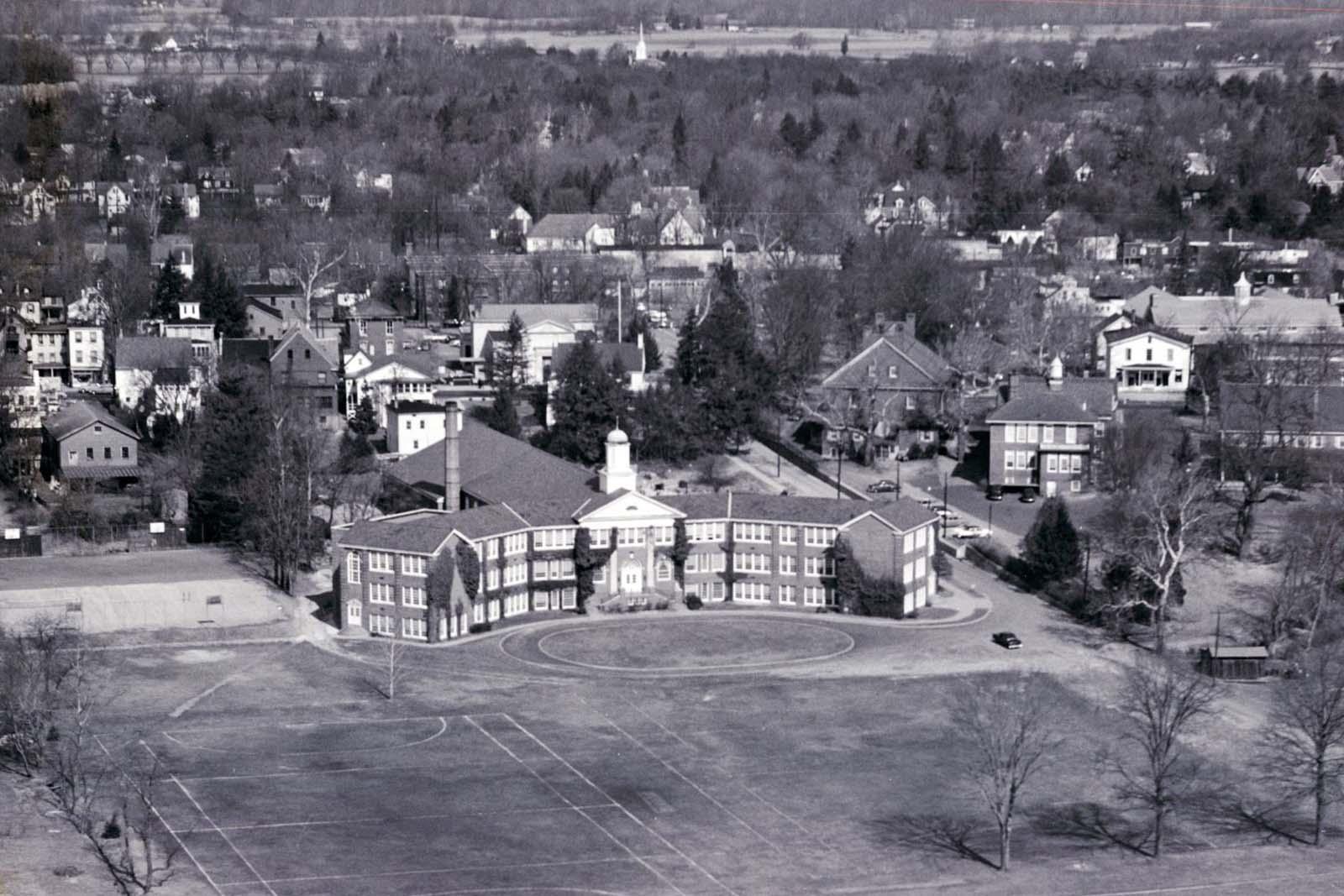 Overhead campus