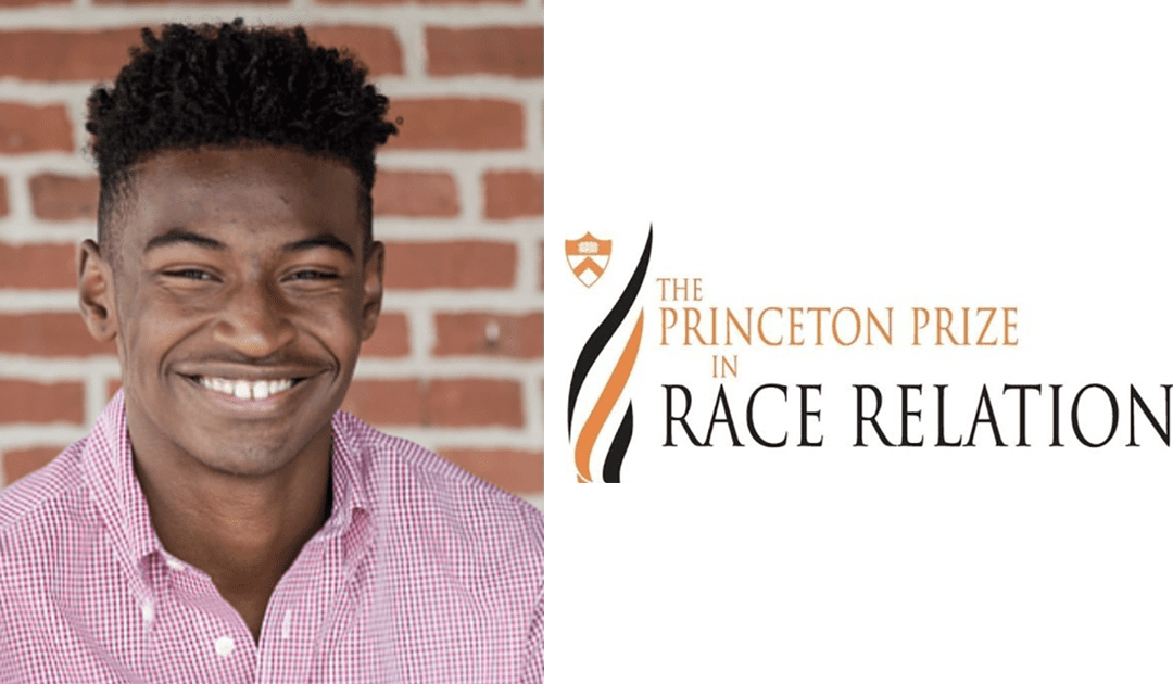 Calvin Bell '20 Wins 2020 Princeton Prize in Race Relations