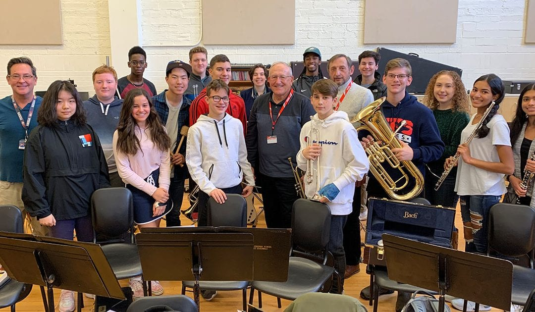Upper School Music Retreat Welcomes Special Guests for Clinics, Film Screening