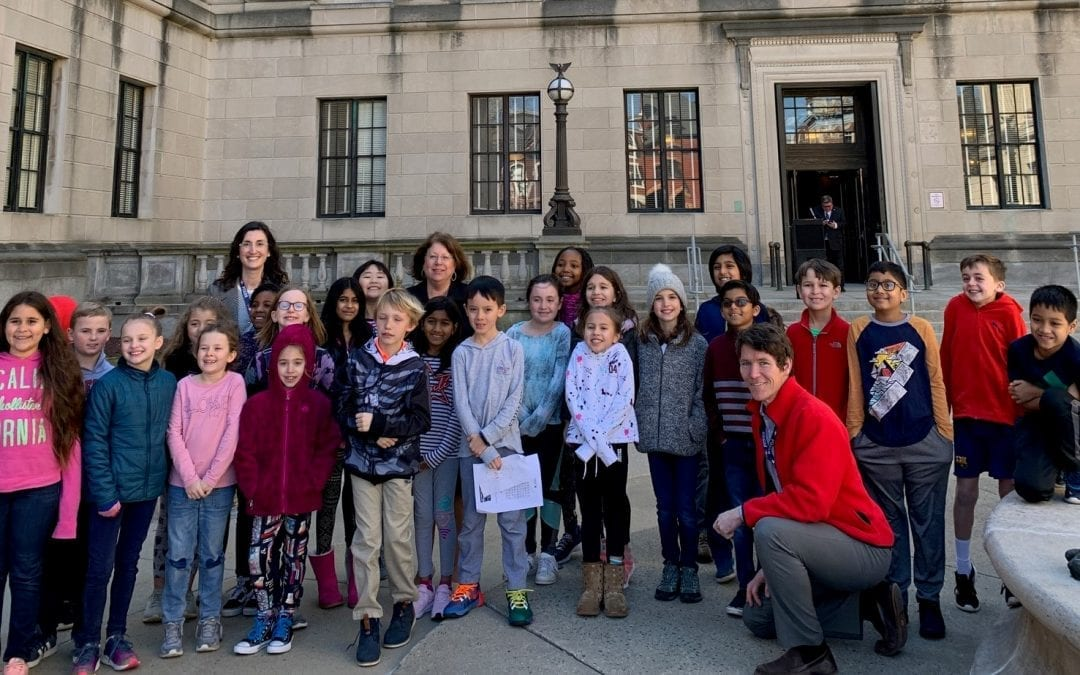 Meeting with State Senator Highlights Third Grade Persuasive Writing Unit