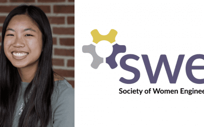 Lauren Kam '21 Wins Local Innovator Award from Society of Women Engineers