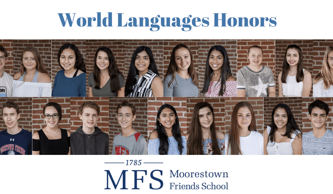 Nineteen Students Inducted Into World Language Honor Societies