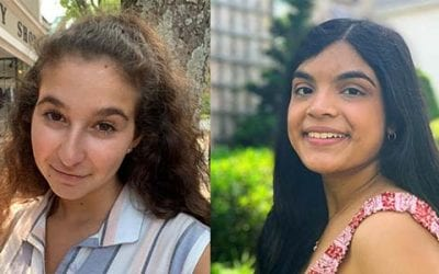 Two Upper School Students Named to API Girls Leadership Council Executive Board