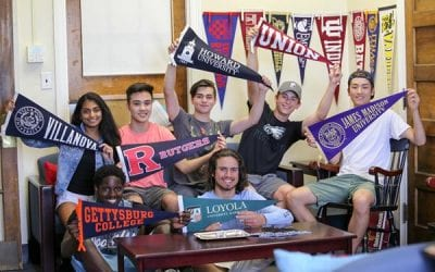 Senior Class Partners with College-Age Alumni for College Admissions Process