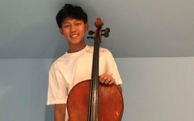 Alexander Kwak '23 Earns Spot in Prestigious Regional Youth Orchestra